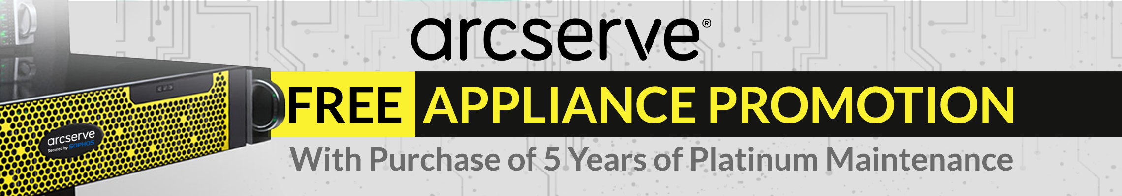 Free Appliance Banner